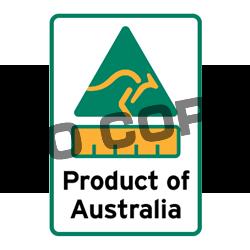 Product of Australiaオーストラリア製製品認証